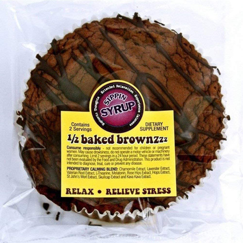 Packet of Buzz Brownies