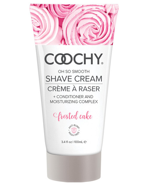Coochy Shave Cream Frosted Cake 3.4 oz bottle