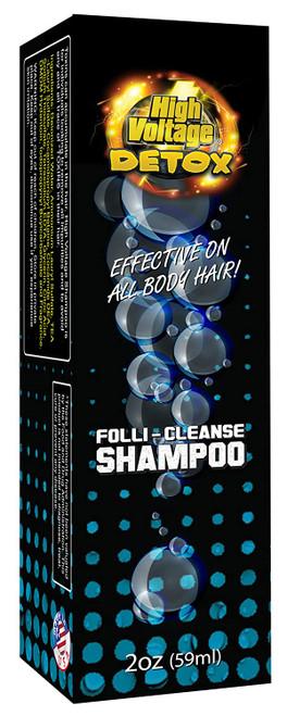 High Voltage Detox Folli-Cleanse Shampoo box front