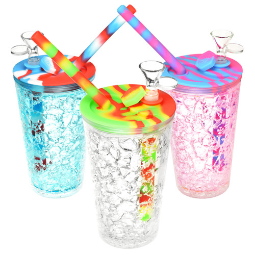 Cooling Freeze Travel Cup Bubbler