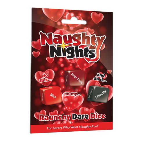 Naughty Nights Dice couples game