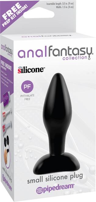 Anal Fantasy Small Silicone Plug box