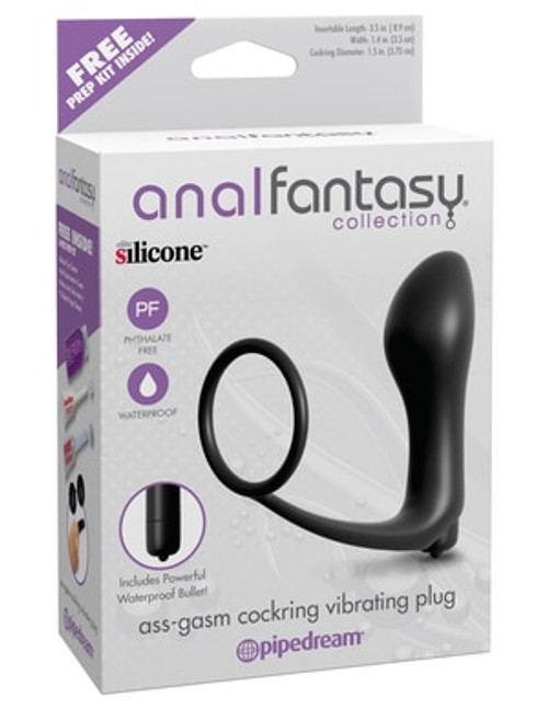Anal Fantasy Ass-gasm Cockring Plug box front