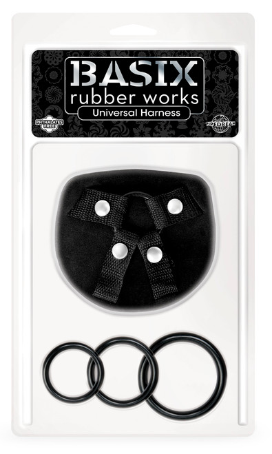 Basix Rubber Works Universal Harness One Size front of box