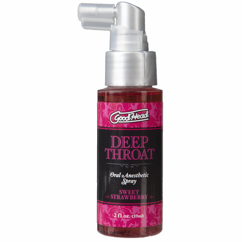 Goodhead Deep Throat Spray 2oz - Strawberry