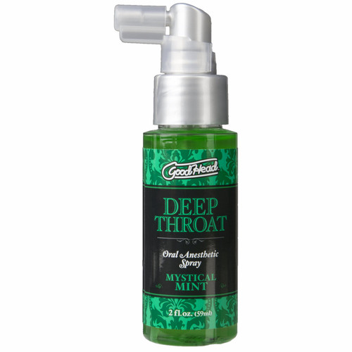 Goodhead Deep Throat Spray 2oz - Mint
