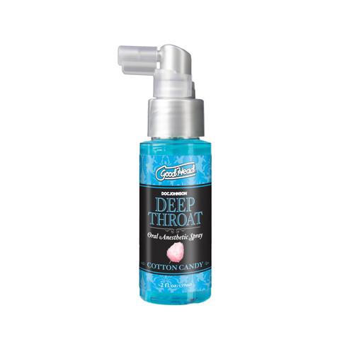 Goodhead Deep Throat Spray 2oz - Cotton Candy