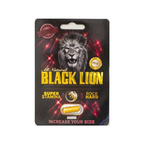 Black Lion Sexual Performance Enhancement