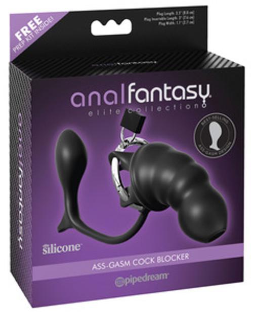 Anal Fantasy Elite Ass-Gasm Cock Blocker