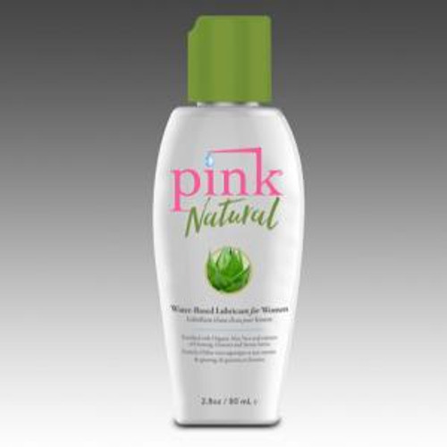 Pink Natural is our new water based lubricant
