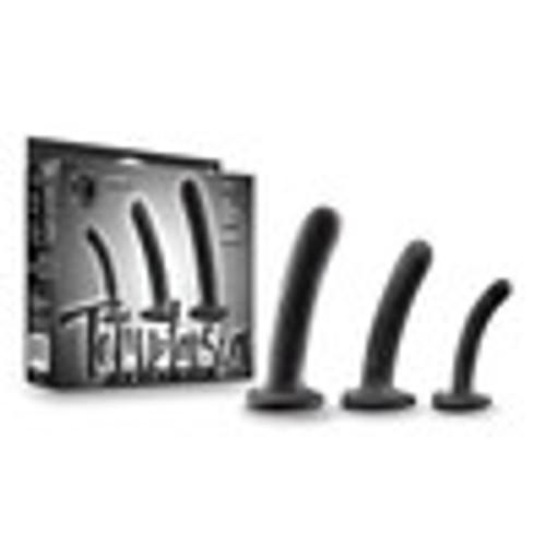 Temptasia Twist Kit Set of Three Dildos Black