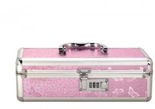 Lockable Vibrator Case Pink Small