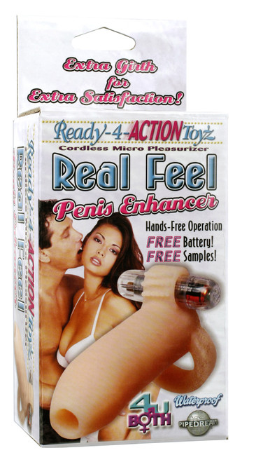 Ready 4 Action Real Feel Penis Enhancer box front