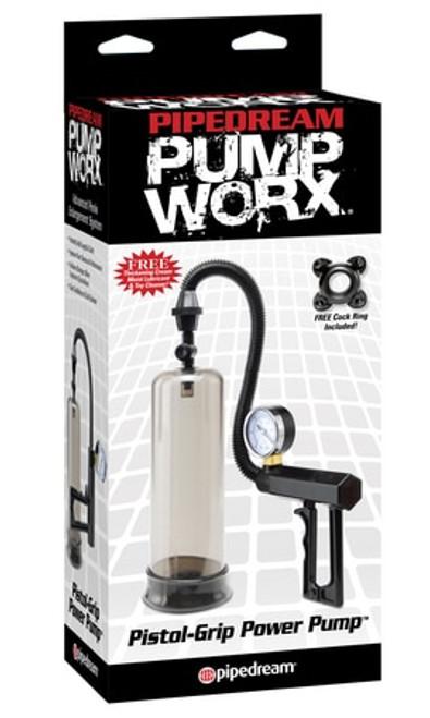 Pump Worx Pistol Grip Power Pump box front