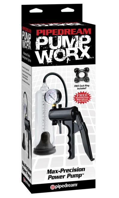 Pump Worx Max Precision Power Pump box front