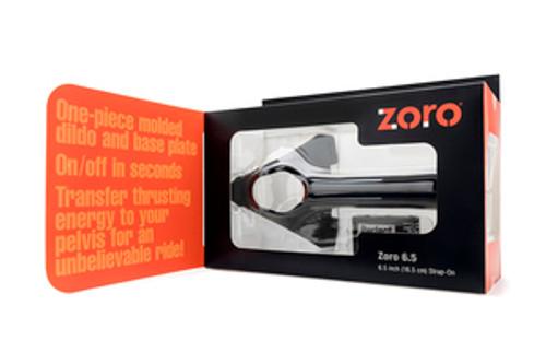 Perfect Fit Brand Zoro 6.5 inches Strap On Black