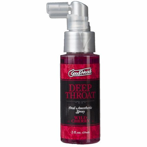 Goodhead Deep Throat Spray 2oz - Cherry