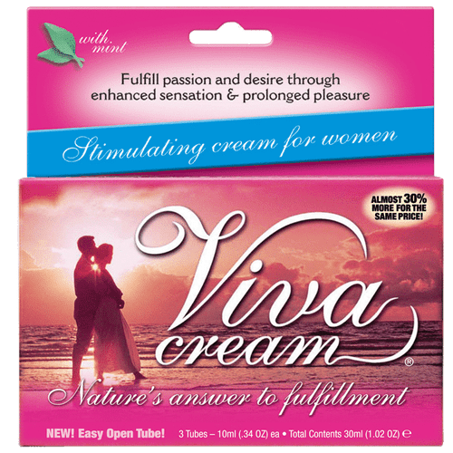 Viva Cream 10ml 3 Tube Box
