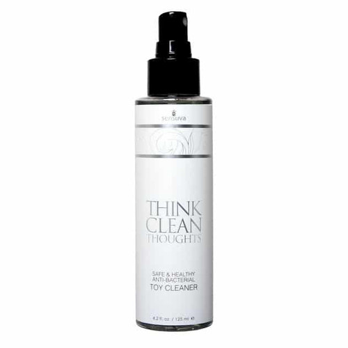 Think Clean Thoughts Toy Cleaner 4.2 Oz bottle