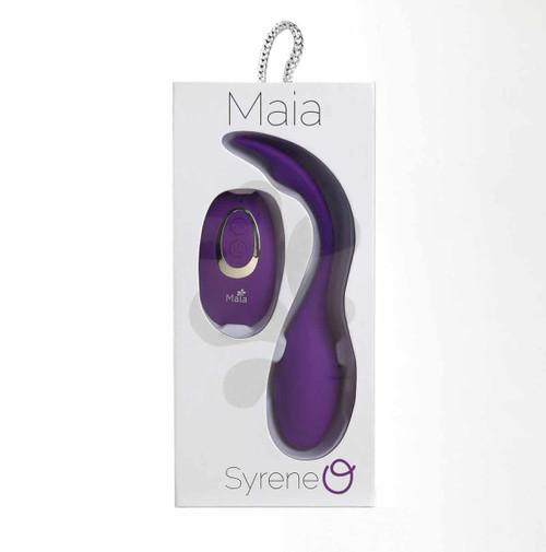 Syrene Maia Remote Luxury Bullet Vibrator box front