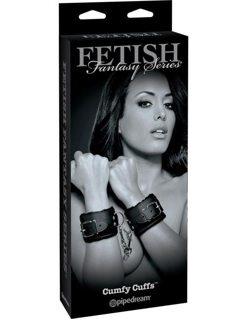 Fetish Fantasy Limited Edition Cumfy Cuffs box front