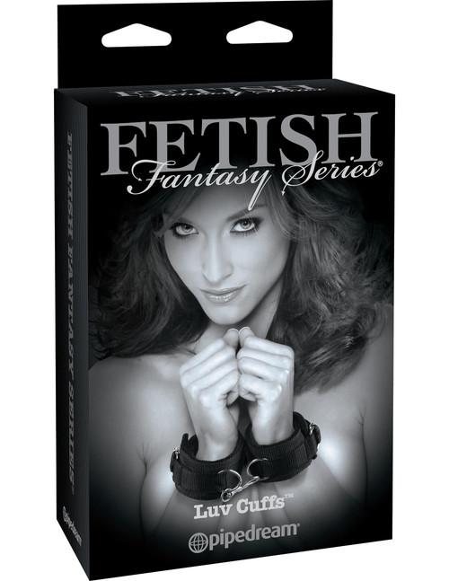 Fetish Fantasy Limited Edition Luv Cuffs box front