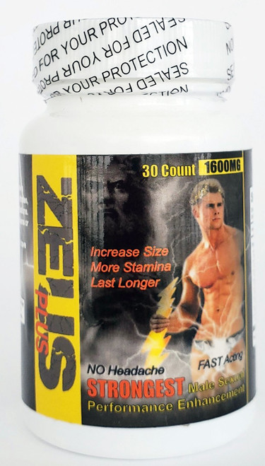 Zeus Male Sexual Enhancer 30  Pill Jar front
