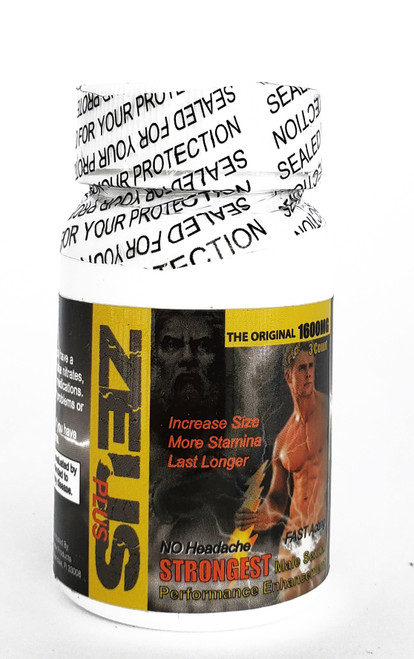 Zeus Male Sexual Enhancer 3  Pill Jar bottle front