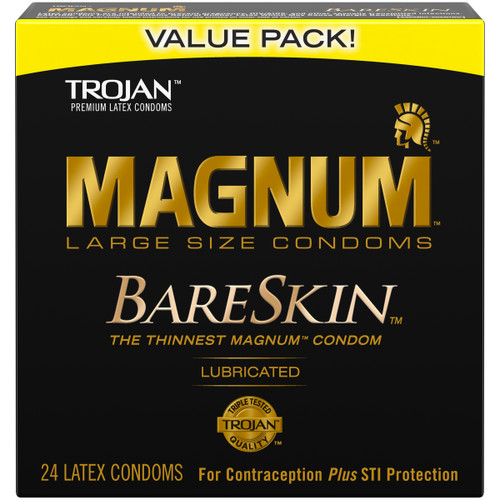 Trojan Magnum Bareskin 24 Pk