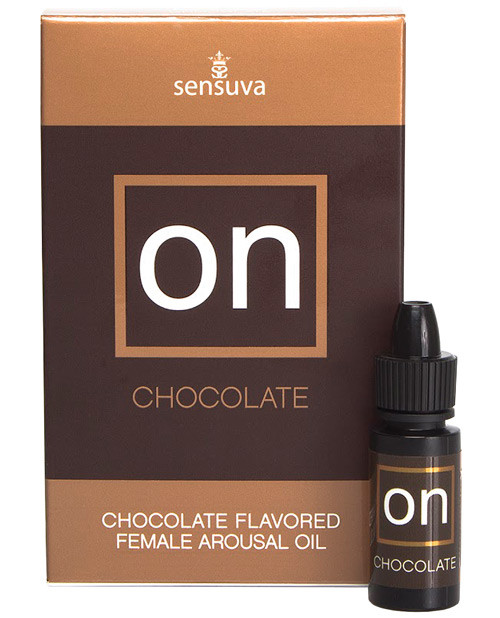 On™ For Her Arousal Oil Chocolate 5ml Large Box