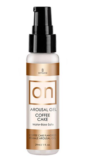 On™ For Her Arousal Gel Coffee Cake 1 Fl.oz. Bottle