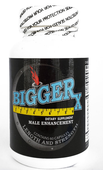 Bigger X bottle front