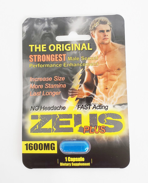The Zeus Pill - Single Pack box front