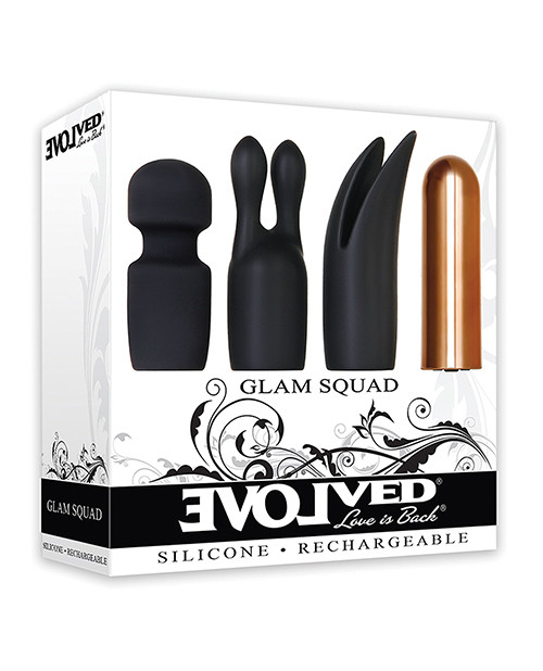 Glam Squad Recargeable Vibrator box front