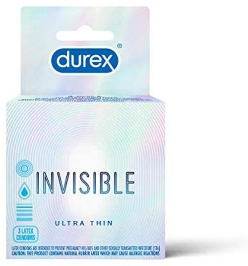 Durex Invisible 3 Pack
