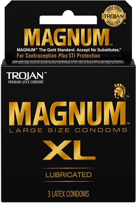 Trojan Magnum Xl 3 Pack