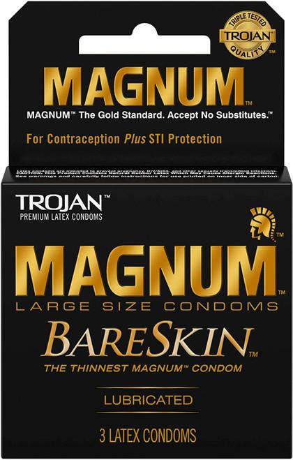 Trojan Magnum Bareskin 3 Pk