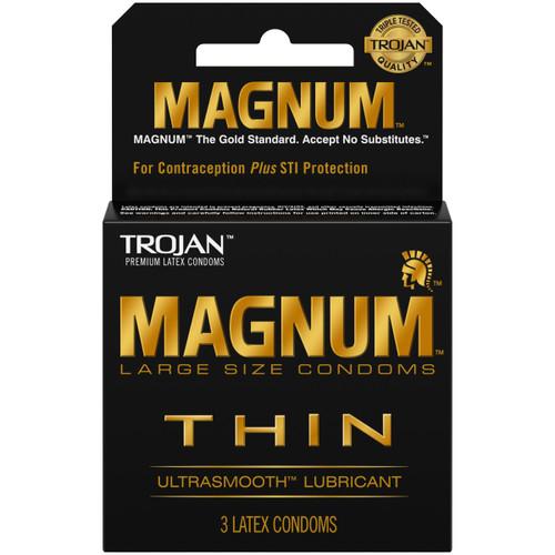 Trojan Magnum Thin 3s