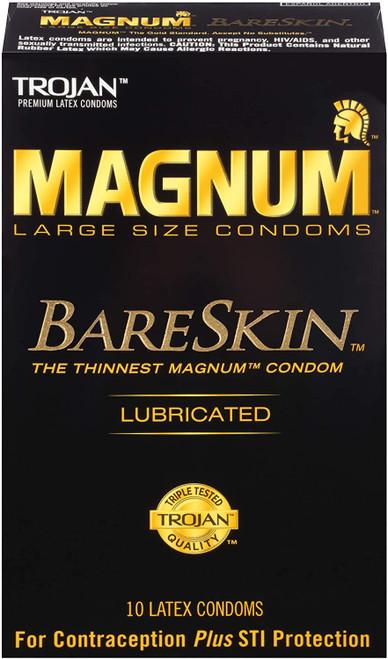 Trojan Magnum Bareskin 10 Pk