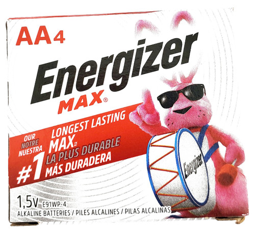 Energizer Batteries Aa 4 Pack