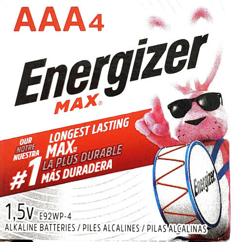 Energizer Batteries Aaa 4 Pack