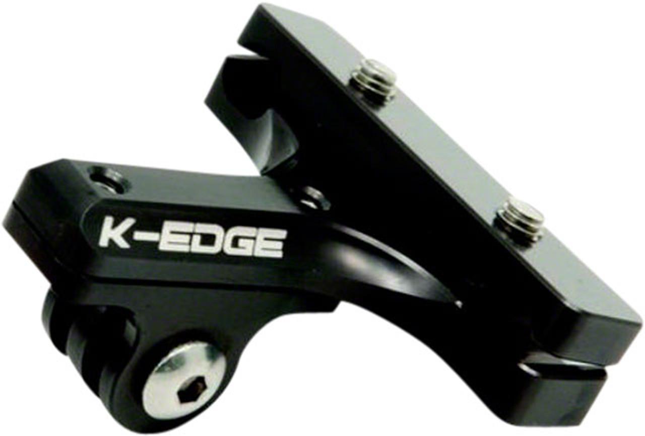K-EDGE GO BIG Handlebar Camera Mount for GoPro Gunmetal 31.8mm Garmin//Shimano