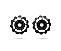 ceramicspeed shimano 10 speed pulley wheels save you watts in black