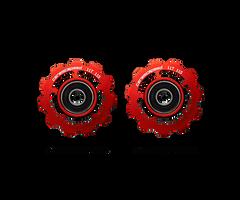 CeramicSpeed SRAM 11 Speed Pulley Wheels red sport factory