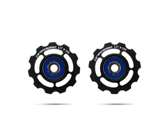 Ceramic Speed SRAM 10 Speed Pulley Wheels black alloy