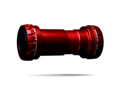ceramicspeed bb30 bottom bracket in red fits shimano road