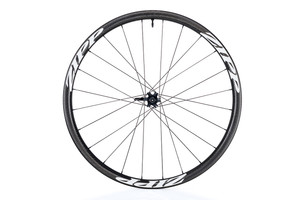 Zipp 202 Firecrest Carbon Clincher Tubeless Disc Brake front white decal