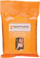 Nathan Power Shower Wipes 15 Pack