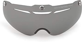 Giro Air Attack Replacement Shield gray silver flash closeout