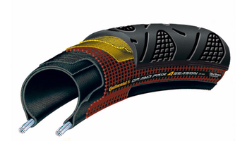 Continental GP 4 Season limited Black Edition bicycle tire